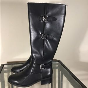 TOETOS Women's Fashion Casual Knee High Ri…